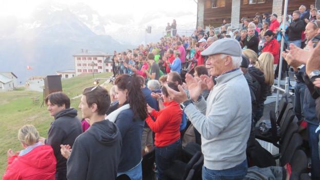 Die Zuschauer bedankten sich mit einer Standing Ovation.