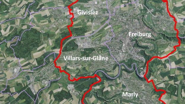 So soll das starke Freiburger Zentrum einmal aussehen.