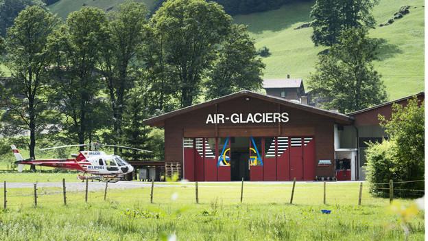 Ein Helikopter der Air-Glaciers ist bei Lauterbrunnen abtestürzt.