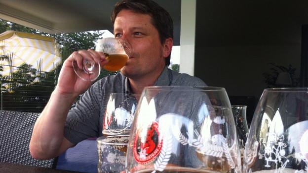 Sauer, bitter, süss - darüber urteilen Nase und Gaumen eines guten Bier-Sommeliers.