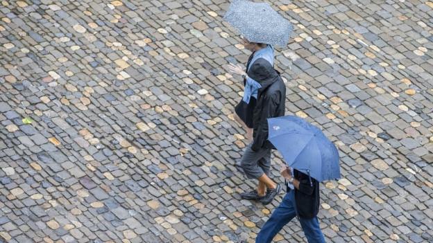 Der Regen der letzten Tage reicht nicht aus.
