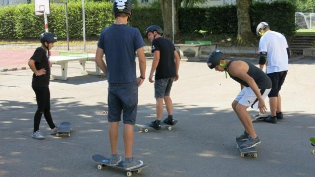 Skaten ohne Schranken im Lager Cooltour