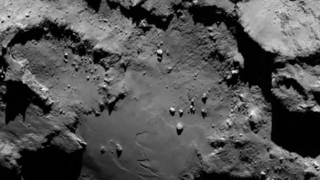 Der Komet «Chury».