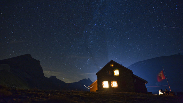 Die Nachtruhe wird in den SAC-Hütten unterschiedlich interpretiert.