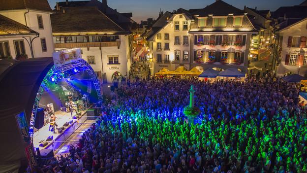 Am Thunfest wird es jeweils eng - so wie hier 2013.