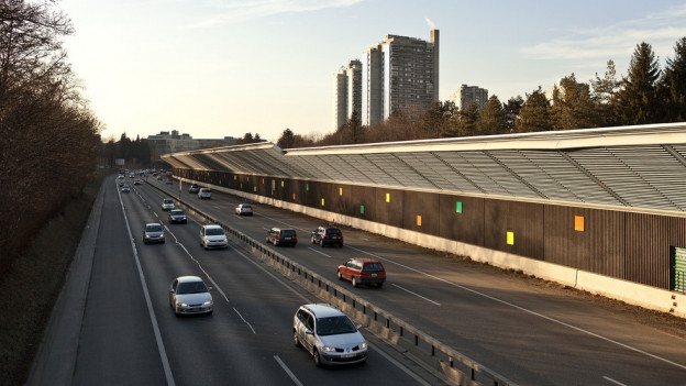 Die A6 bei Bern ist zu Stosszeiten regelmässig verstopft.