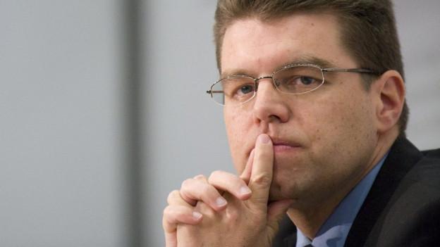 Andreas Rickenbacher weiss noch nicht, was er ab Juni 2016 beruflich macht.