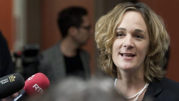 Ursula Wyss will Alexander Tschäppät beerben.