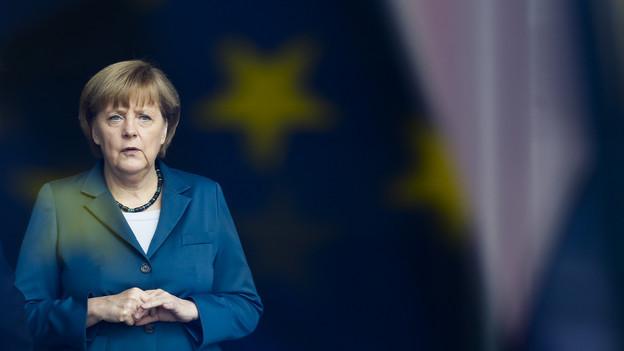 Merkel kommt wegen der EU und geht mit einem Ehrendoktortitel.