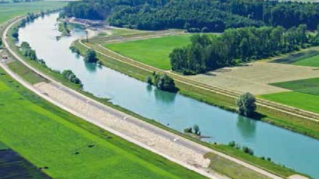 Der sanierte Hagneckkanal: sicherer und ökologischer.