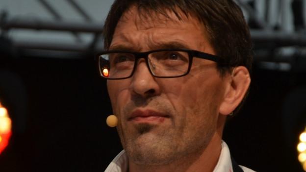 Der Berner Teamchef Peter Schmutz.