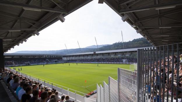 Das Fussballstadion des FC Biel, nur ein Teil der Tissot-Arena.