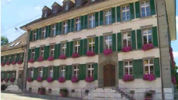 Das Gemeindehaus von Aarwangen.