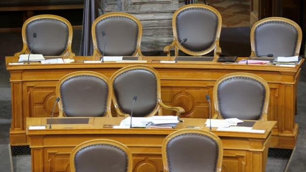 Kommt es zum Sesselrücken im Ständerat?