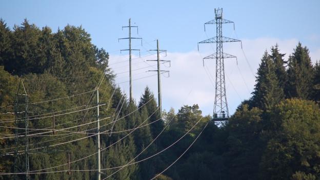 Gleiche Leitung, gleiche Linienführung - aber mehr Leistung in den Drähten: Swissgrid will so auf der Gemmileitung mehr Strom transportieren.