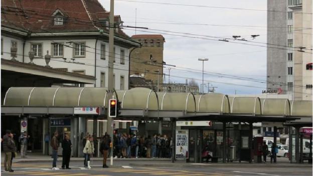 Der Bahnhof Freiburg soll ein Lifting bekommen.