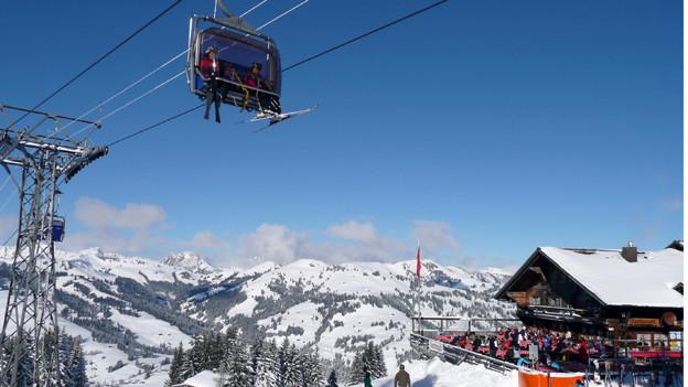 Die Sanierung der Gstaader Bergbahnen ist auf Kurs.