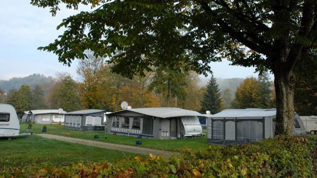 Der Campingplatz Eymatt soll im Winter geschlossen werden.