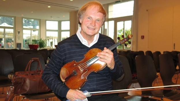 «Der Oberländer Preis berührt mich zutiefst im Herzen»: Alexandre Dubach.