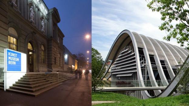 Unterwegs in die gemeinsame Zukunft: Kunstmuseum Bern und Zentrum Paul Klee.