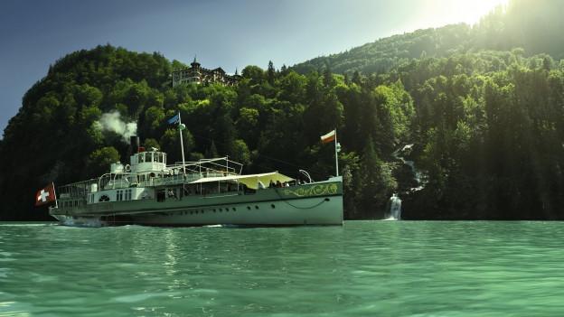 Fast eine Million Passagiere: Sommerschifffahrt der BLS.