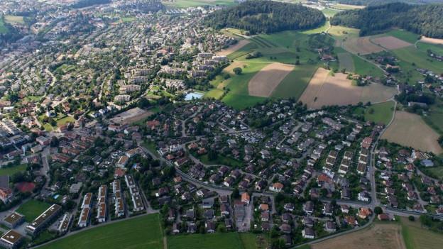 Viele Haushalte von Bolligen (Vodergrund) könnten von der Fernwärme profitieren.