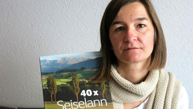 «Ich sass x-mal am Abend auf einem Hügel und schaute dem Sonnenuntergang zu», sagt Corinne Aeberhard