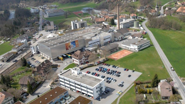 Das Gelände der Wander AG in Neuenegg.
