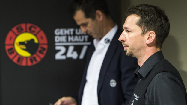 Lars Leuenberger (rechts) ist neuer SCB-Trainer, weil Bruder Sven das Amt des Sportchefs abgibt.