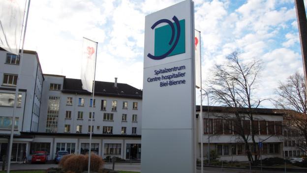 Zweisprachigkeit immer und überall - im Spitalzentrum Biel-Bienne.