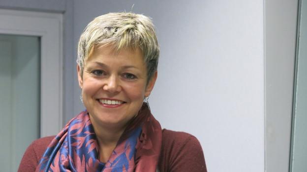 Die 43-jährige Barbara Studer ist seit drei Jahren Staatsarchivarin des Kantons Bern.