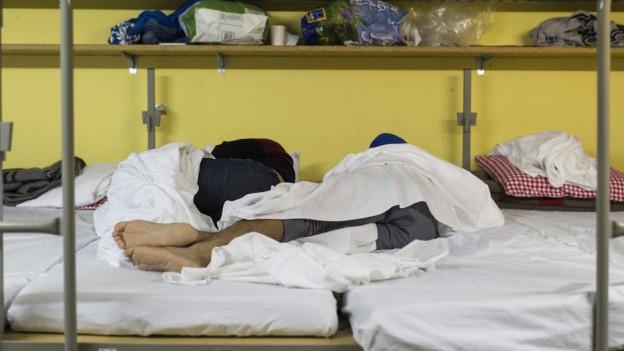 100 neue Plätze für Asylsuchende in Schwarzenburg (Symbolbild).
