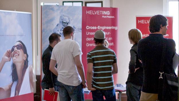 Studenten der Fachhochschule Bern am Career-Day: Wohin des Weges?