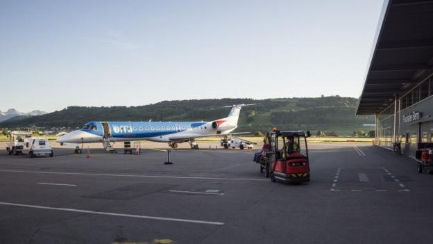 Die vierte Ausbauetappe beim Flughafen Bern-Belp verzögert sich