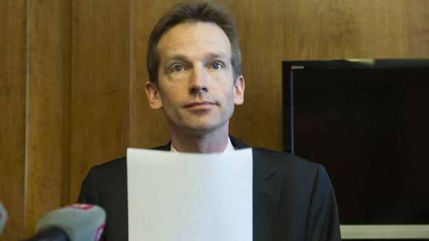Berns Finanzdirektor Alexandre Schmidt