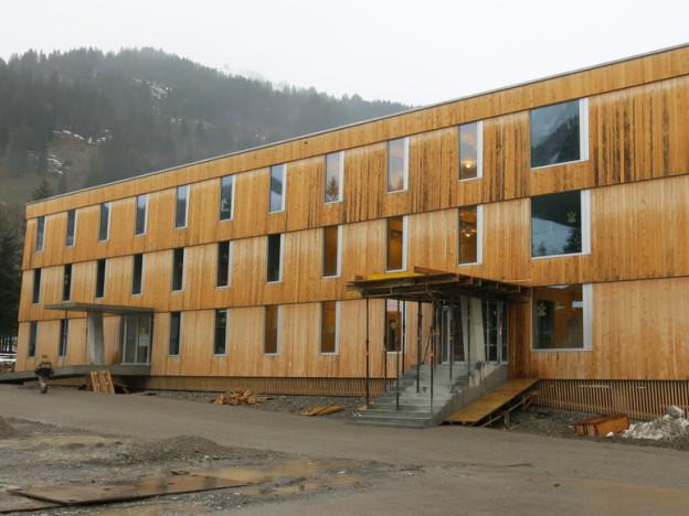 Die neue Unterkunft im Ausbildungszentrum für Zivis in Schwarzsee.