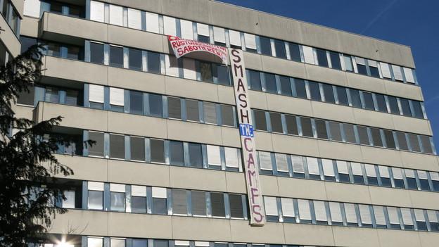 Das Ziegler Spital in Bern wurde besetzt.