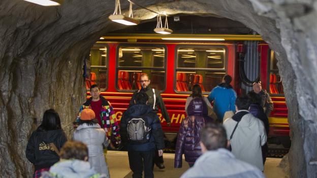 Erstmals überhaupt sind dieses Jahr eine Million Gäste aufs Jungfraujoch gereist.
