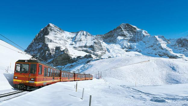 Publikumsmagnet Jungfraubahn sorgte für neuen Rekord im Jahr 2014.