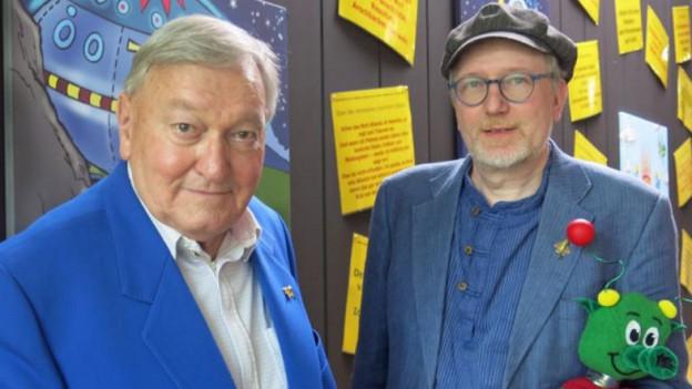 Erich von Däniken hat mit dem Künstler Reinhard Habeck einen Seelenverwandten.