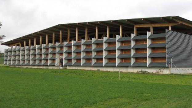 Das Depot erhielt den «Prix Lignum» 2015.