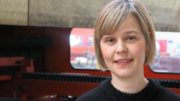 Anna Aebischer-Imfeld: «Ich lerne ganz viel durch unsere eigenen Mitarbeiter.»