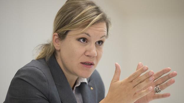 Operiert mit einem Notbudget: Finanzdirektorin Silvia Steidle.