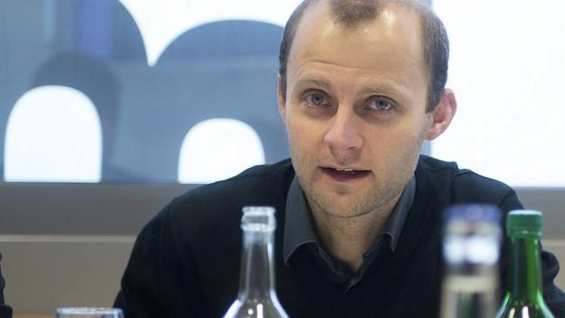 Kommissionspräsident Blaise Kropf.