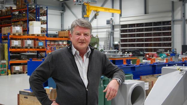Peter Baumann, beim grossen Bahnbauer zuständig für Verkauf und Entwicklung.