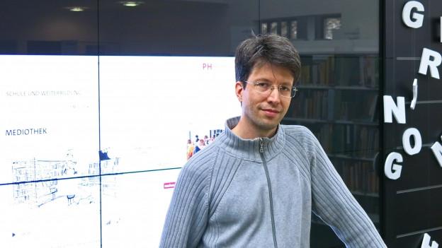 Nando Stöcklin von der PH Bern.