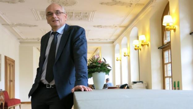 Pierre Alain Schnegg (SVP).