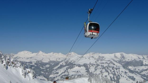 Die Saanerslochbahn in der Destination Gstaad: Nach der Sanierung der Bergbahngesellschaft wird diese Bahn ersetzt.
