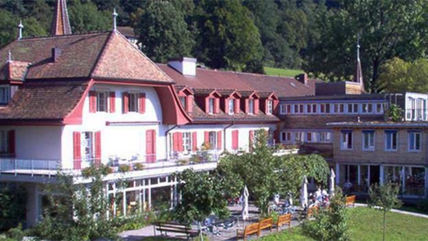 Ein Teil des städtischen Altersheims Ried in Biel.