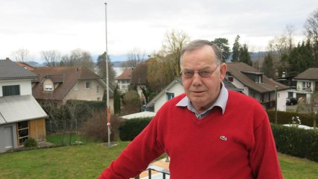 50 Jahre sind genug: Walter Zürcher kehrt dem Gemeinderat den Rücken.